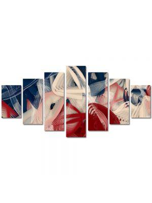 Set Tablouri Multicanvas 7 Piese Abstract Decorativ Artist