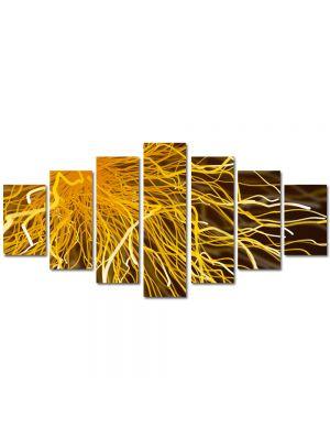 Set Tablouri Multicanvas 7 Piese Abstract Decorativ Tesla