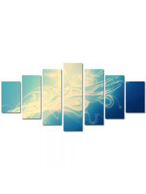 Set Tablouri Multicanvas 7 Piese Abstract Decorativ Zana