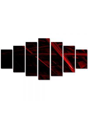 Set Tablouri Multicanvas 7 Piese Abstract Decorativ Schele