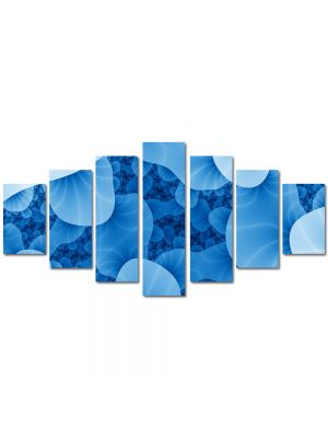 Set Tablouri Multicanvas 7 Piese Abstract Decorativ Meduze