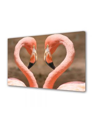 Tablou Canvas Animale Pasari Flamingo