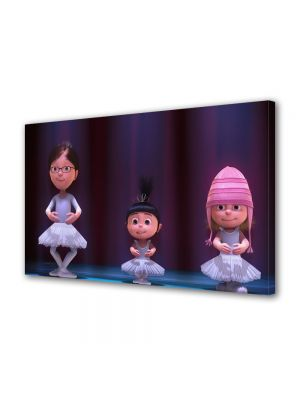 Tablou VarioView LED Animatie pentru copii Despicable Me 2 Balet