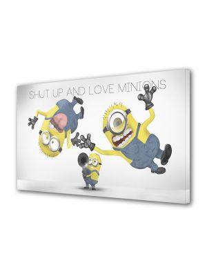 Tablou Canvas pentru Copii Animatie Iubeste Minionii