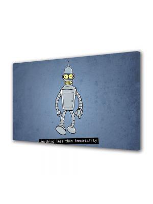 Tablou VarioView MoonLight Fosforescent Luminos in intuneric Animatie pentru copii Bender din Futurama