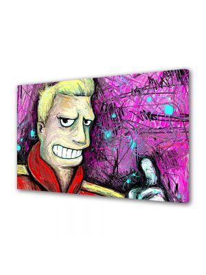 Tablou Canvas pentru Copii Animatie Futurama Zapp