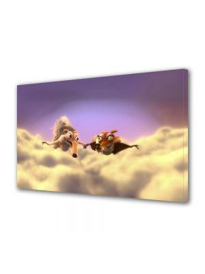 Tablou Canvas pentru Copii Animatie Ice Age 3 Scrat si Scratte