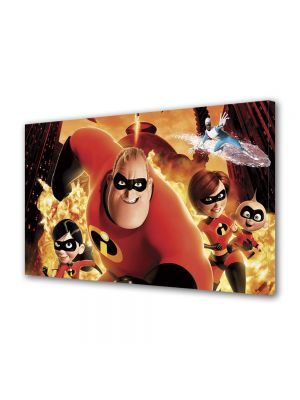 Tablou VarioView LED Animatie pentru copii Incredibles Movie