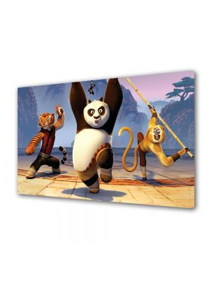 Tablou VarioView MoonLight Fosforescent Luminos in intuneric Animatie pentru copii Kung Fu Panda 2 The Movie