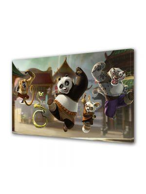 Tablou Canvas pentru Copii Animatie Kung Fu Panda