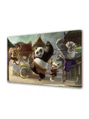 Tablou VarioView LED Animatie pentru copii Kung Fu Panda