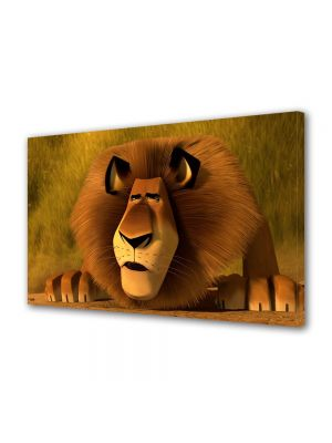 Tablou VarioView LED Animatie pentru copii Madagascar 3 Leul Alex