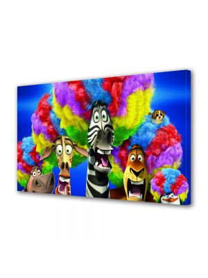 Tablou VarioView LED Animatie pentru copii Madagascar 3 Europes Most Wanted Circus Afro