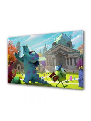 Tablou Canvas pentru Copii Animatie Monster University 2013 Concept