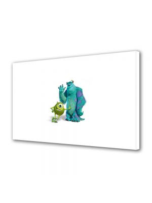 Tablou Canvas pentru Copii Animatie Monsters Inc. Sulley si Mike