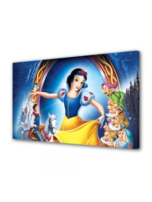 Tablou VarioView LED Animatie pentru copii Disney Alba ca Zapada
