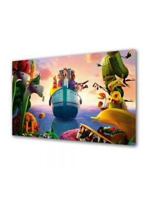 Tablou Canvas pentru Copii Animatie Cloudy With a Chance of Meatballs 2 Revenge of the Leftovers