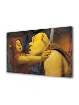 Tablou VarioView MoonLight Fosforescent Luminos in intuneric Animatie pentru copii Shrek si Printesa Fiona