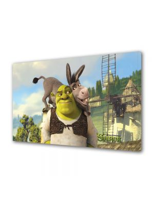 Tablou VarioView LED Animatie pentru copii Shrek si Magaru