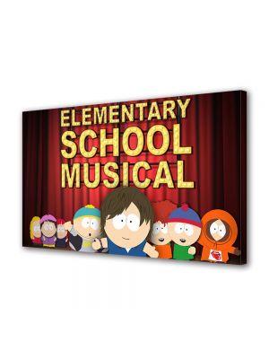 Tablou VarioView LED Animatie pentru copii South Park Elementary School Musical