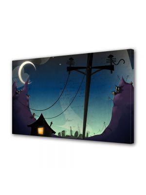 Tablou VarioView MoonLight Fosforescent Luminos in intuneric Animatie pentru copii Desen Animat Arta