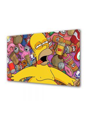 Tablou VarioView LED Animatie pentru copii Homer Simpson
