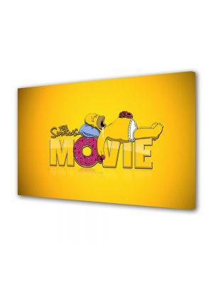 Tablou VarioView LED Animatie pentru copii The Simpsons Filmul