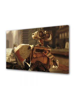 Tablou Canvas pentru Copii Animatie Wall E In oras