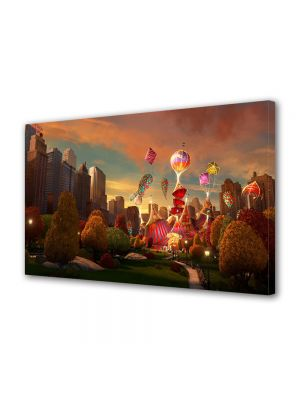 Tablou Canvas pentru Copii Animatie Madagascar 3 Europes Most Wanted New York Circus