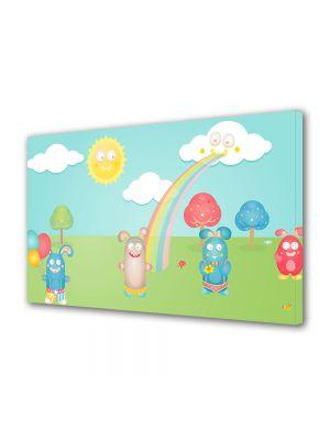 Tablou Canvas pentru Copii Animatie Fitzroy Rabbits
