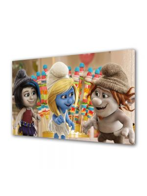 Tablou VarioView MoonLight Fosforescent Luminos in intuneric Animatie pentru copii The Smurf 3