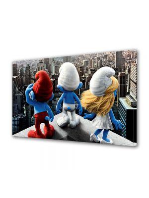 Tablou Canvas pentru Copii Animatie Smurfs Strumfii