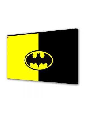 Tablou Canvas pentru Copii Animatie Batman Ilustratie Sigla