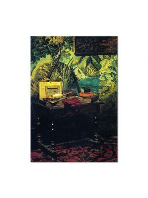 Tablou Arta Clasica Pictor Claude Monet A Corner of the Studio 1861 80 x 100 cm