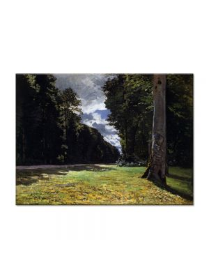 Tablou Arta Clasica Pictor Claude Monet The Pave de Chailly in the Fontainbleau Forest 1865 80 x 110 cm