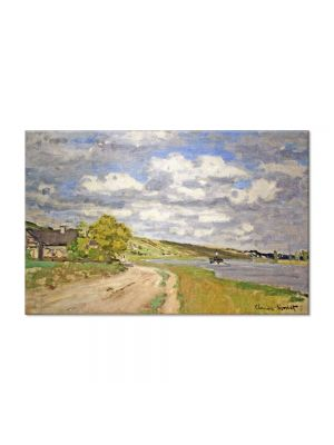 Tablou Arta Clasica Pictor Claude Monet The Estuary of the Siene 1868 80 x 120 cm