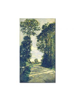 Tablou Arta Clasica Pictor Claude Monet Road to the Saint-Simeon Farm 1864 80 x 120 cm