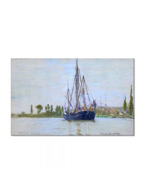 Tablou Arta Clasica Pictor Claude Monet The Sailing Boat 1871 80 x 120 cm