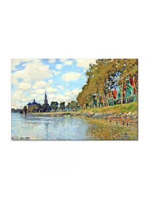 Tablou Arta Clasica Pictor Claude Monet Zaandam 1871 80 x 120 cm