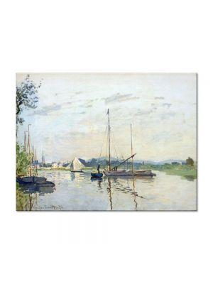 Tablou Arta Clasica Pictor Claude Monet Argenteuil 1872 80 x 110 cm