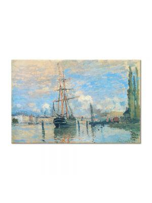 Tablou Arta Clasica Pictor Claude Monet Seine at Rouen 1873 80 x 120 cm