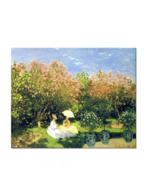 Tablou Arta Clasica Pictor Claude Monet The Garden 1872 80 x 100 cm