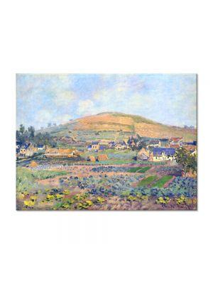 Tablou Arta Clasica Pictor Claude Monet The Mount Riboudet in Rouen at Spring 1872 80 x 110 cm