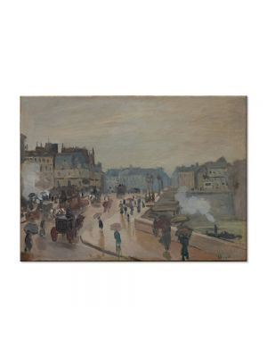 Tablou Arta Clasica Pictor Claude Monet The Pont Neuf 1872 80 x 110 cm