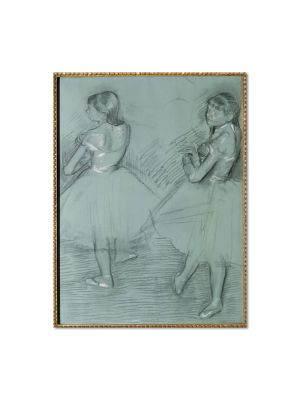 Tablou Arta Clasica Pictor Edgar Degas Two Dancers 1879 80 x 100 cm