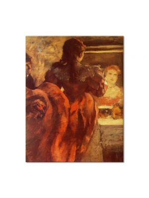 Tablou Arta Clasica Pictor Edgar Degas Dancer in her dressing room 1879 80 x 100 cm