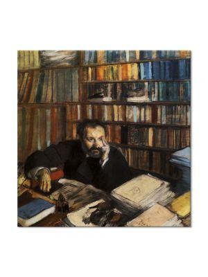 Tablou Arta Clasica Pictor Edgar Degas Edmond Duranty 1879 80 x 80 cm