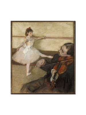Tablou Arta Clasica Pictor Edgar Degas The Dance Lesson 1879 80 x 90 cm