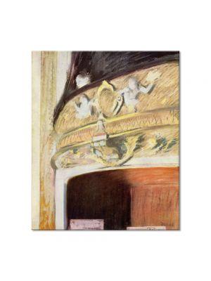 Tablou Arta Clasica Pictor Edgar Degas The Box at the Opera 1880 80 x 90 cm