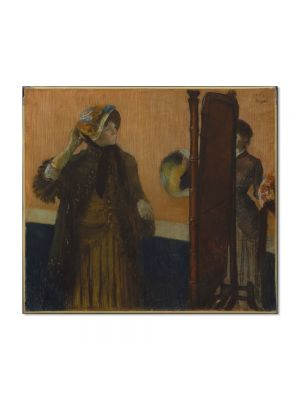 Tablou Arta Clasica Pictor Edgar Degas At the Milliners 1882 80 x 90 cm